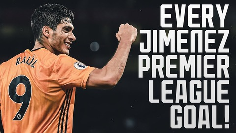 ALL OF RAUL JIMENEZ'S PREMIER LEAGUE GOALS! | JIMENEZ SETS NEW WOLVES RECORD
