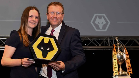 Wolves Women Player Of The Season | Andrea Whetton