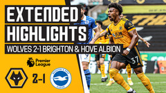 TRAORE & GIBBS-WHITE LIGHT UP MOLINEUX! Wolves 2-1 Brighton & Hove Albion | Extended Highlights