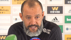 Nuno's pre-Liverpool press conference