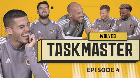 'FLIP AS MANY HEADS AS YOU CAN' | WOLVES TASKMASTER | EPISODE 4