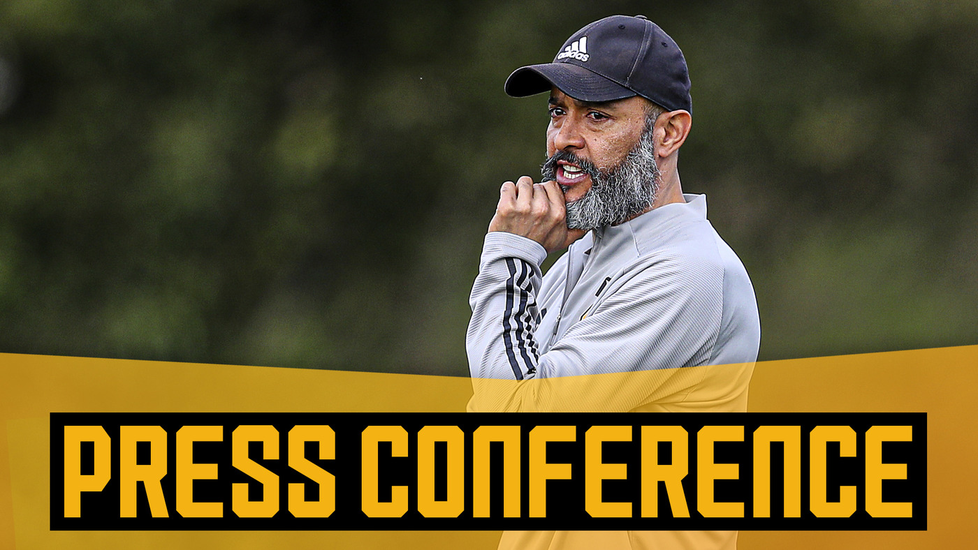 Nuno on Moutinho, West Ham United & football still without fans   Pre-West Ham press conference