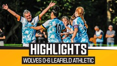 Leafield Athletic LFC 0-6 Wolves Women | Highlights