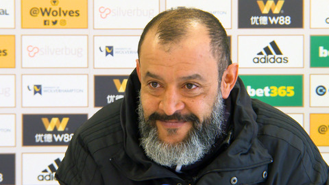 Nuno's pre-Everton press conference