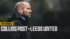 James Collins on Leeds United draw