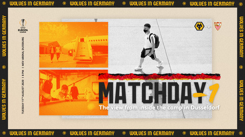 Wolves Matchday -1 | Inside the camp in Dusseldorf!
