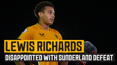 Richard disappointed with defeat to Sunderland
