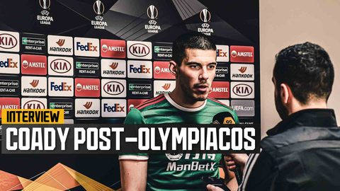 Coady on earning a draw under tough circumstances at Olympiacos