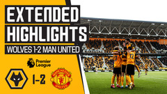 Semedo scores in Nuno's farewell | Wolves 1-2 Man United | Extended Highlights
