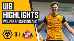 Three goals, three points! Wolves 3-1 Sunderland | U18 Highlights