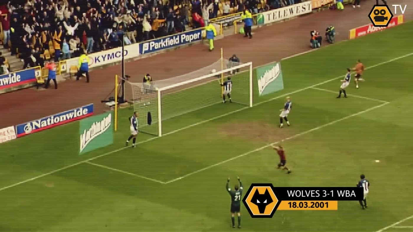 OLD GOLD: Wolves 3-1 WBA
