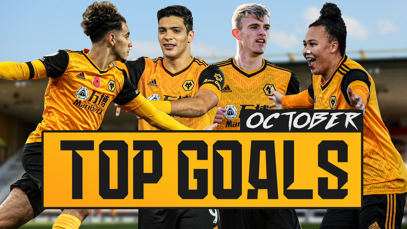 October goal of the month | Raul Jimenez, Taylor Perry, Jamila Palmer, Lowri Walker