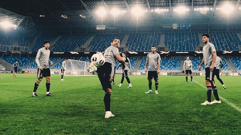 Final preparations in Bratislava   Wolves train at Tehelné pole ahead of the Europa League clash