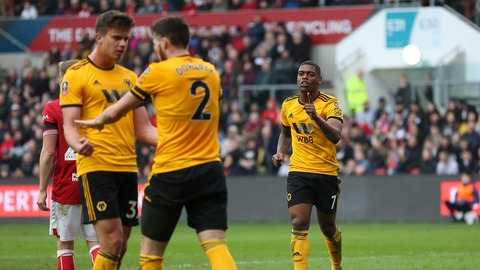 Cavaleiro fires Wolves into the FA Cup quarter-finals