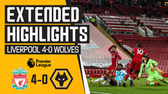 Liverpool 4-0 Wolves | Highlights
