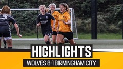 Wolves Women 8-1 Birmingham City WSL Academy | Highlights