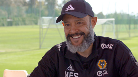 Nuno on Marbella training and Newcastle