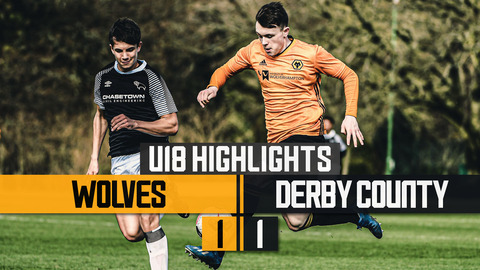 Under 18's Highlights | Wolves 1-1 Derby County