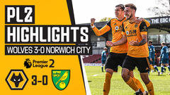 Grip on a play-off position strengthened! Wolves 3-0 Norwich City | PL2 Highlights