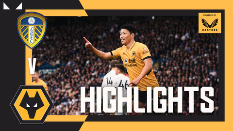 HWANG SCORES AGAIN! | Leeds United 1-1 Wolves | Highlights