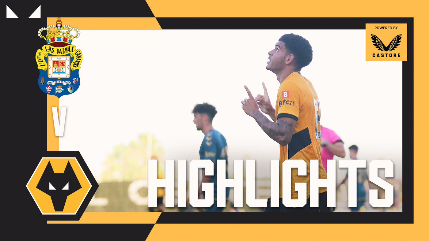 Fine finishes from Hoever and Gibbs-White | Las Palmas 3-2 Wolves | Highlights