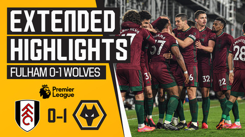 ADAMA WINS IT IN STOPPAGE TIME! | Fulham 0-1 Wolves | Extended Highlights