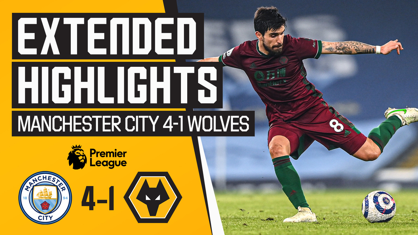 Defeat at the Etihad | Manchester City 4-1 Wolves | Extended Highlights