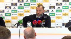 Nuno's pre-Chelsea press conference