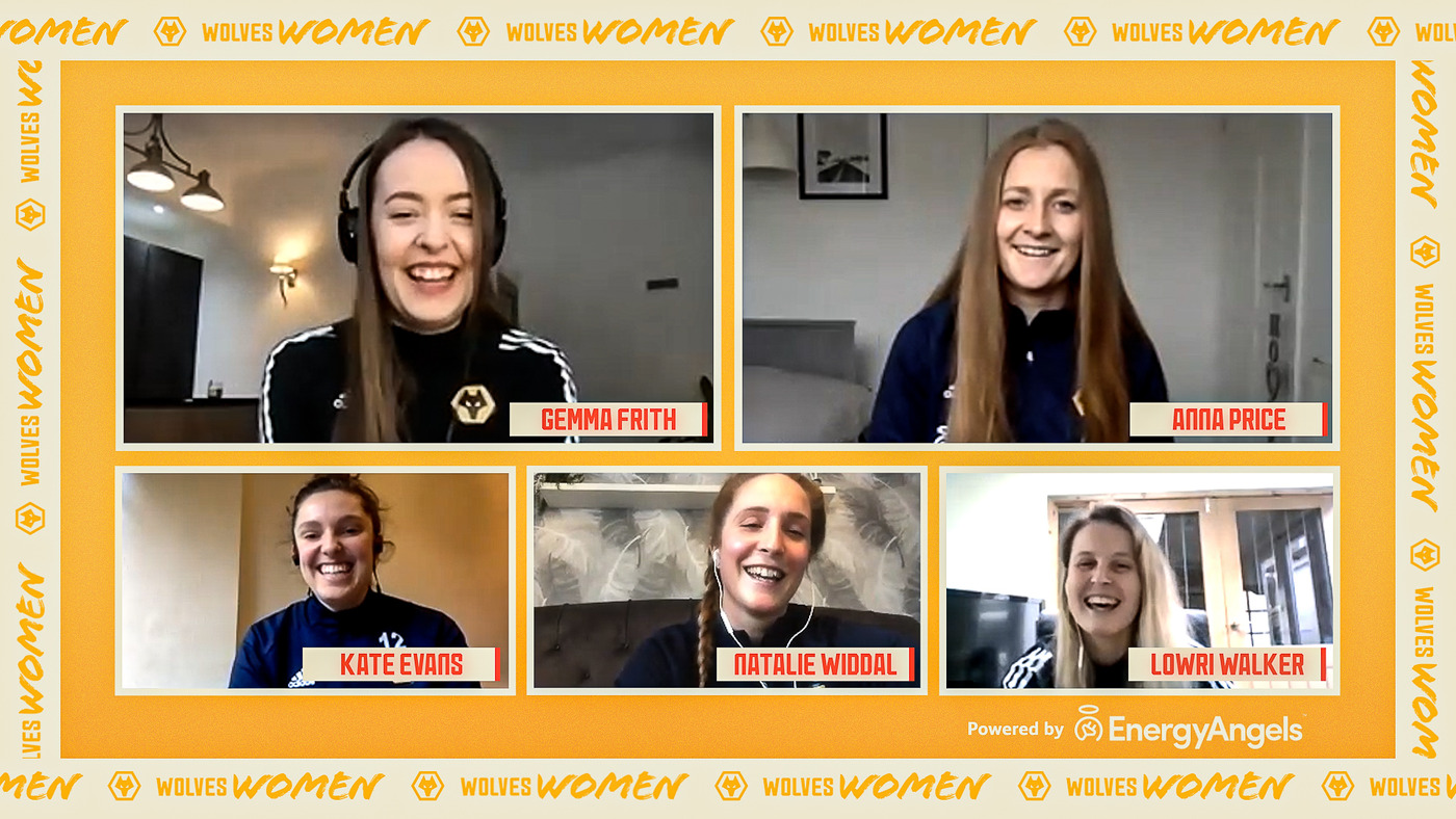 Teammates Wolves Women Edition! | Squad catch up and quiz ahead of league restart
