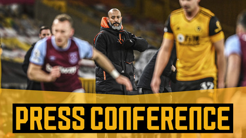 West Ham reaction, injury update, Fulham and Wolves Women | Nuno's pre-Fulham press conference