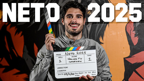 Pedro Neto talks to Wolves TV after signing his new five-year deal!