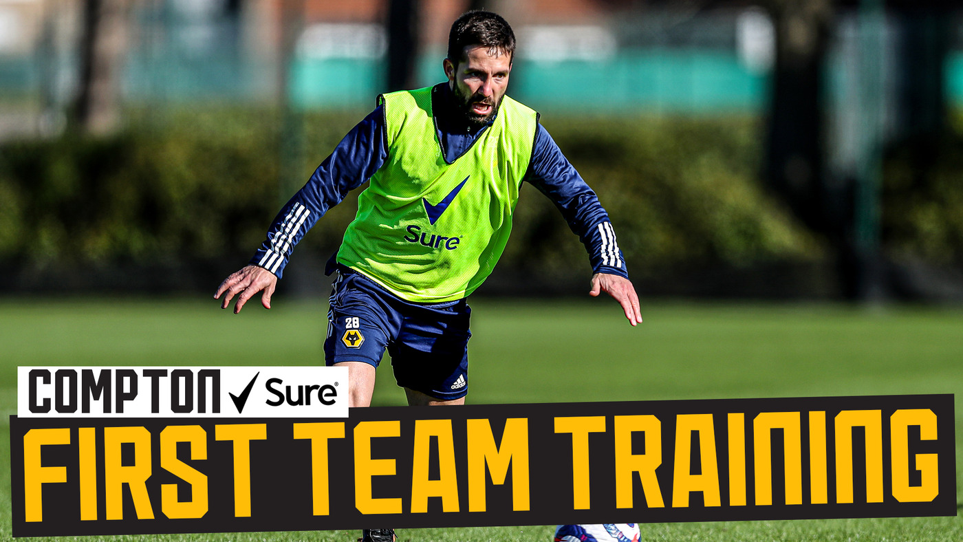 Beautiful weather, beautiful goals! | Wolves training ahead of Newcastle trip