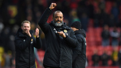 Nuno proud following Watford win