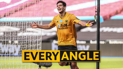 Raul Jimenez breaks his own Premier League record! | Every Angle of his goal vs West Ham
