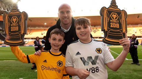 Young Wolves - Wembley surprise