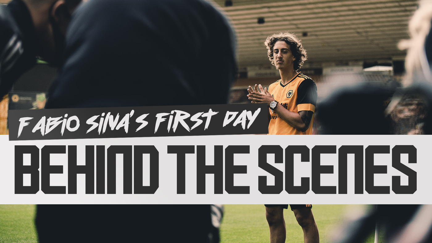 BEHIND THE SCENES OF FABIO SILVA'S SIGNING DAY! | WELCOME TO WOLVES