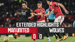 Manchester United 0-0 Wolves | Extended Highlights