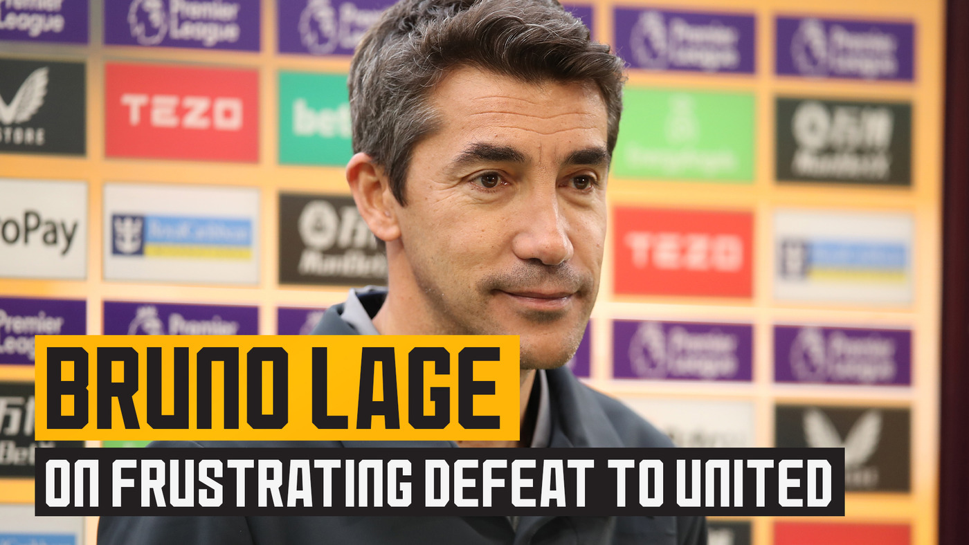 Lage on frustrating defeat to Manchester United & signing Hee Chan Hwang