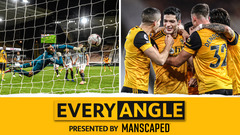 Jimenez's cracking volley from every angle v Newcastle United