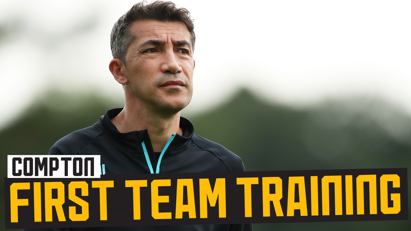 STRAIGHT TO WORK | Bruno Lage's first training session!