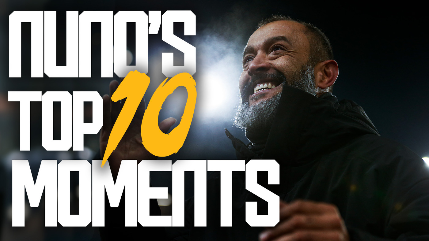 NUNO'S TOP TEN MOMENTS! | BIG WINS, PITCH INVASIONS, EUROPEAN ADVENTURES