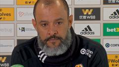 Nuno pre-Southampton press conference
