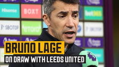 "Lage on ""soft"" late goal against Leeds United"