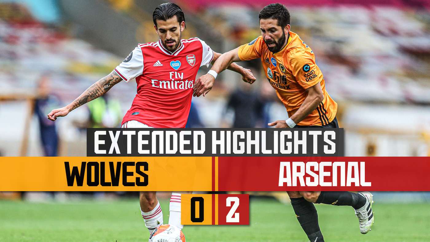 Wolves 0-2 Arsenal | Extended Highlights
