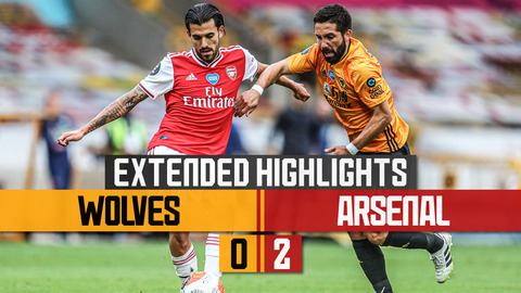 Wolves 2 - 0 Arsenal | Extended Highlights