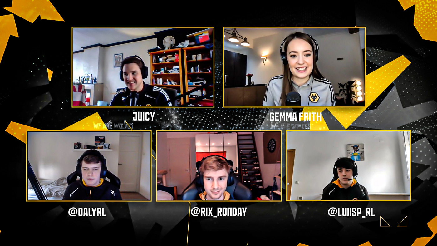 Meet the Wolves Rocket League team   Our Esports team play 'most likely to'...
