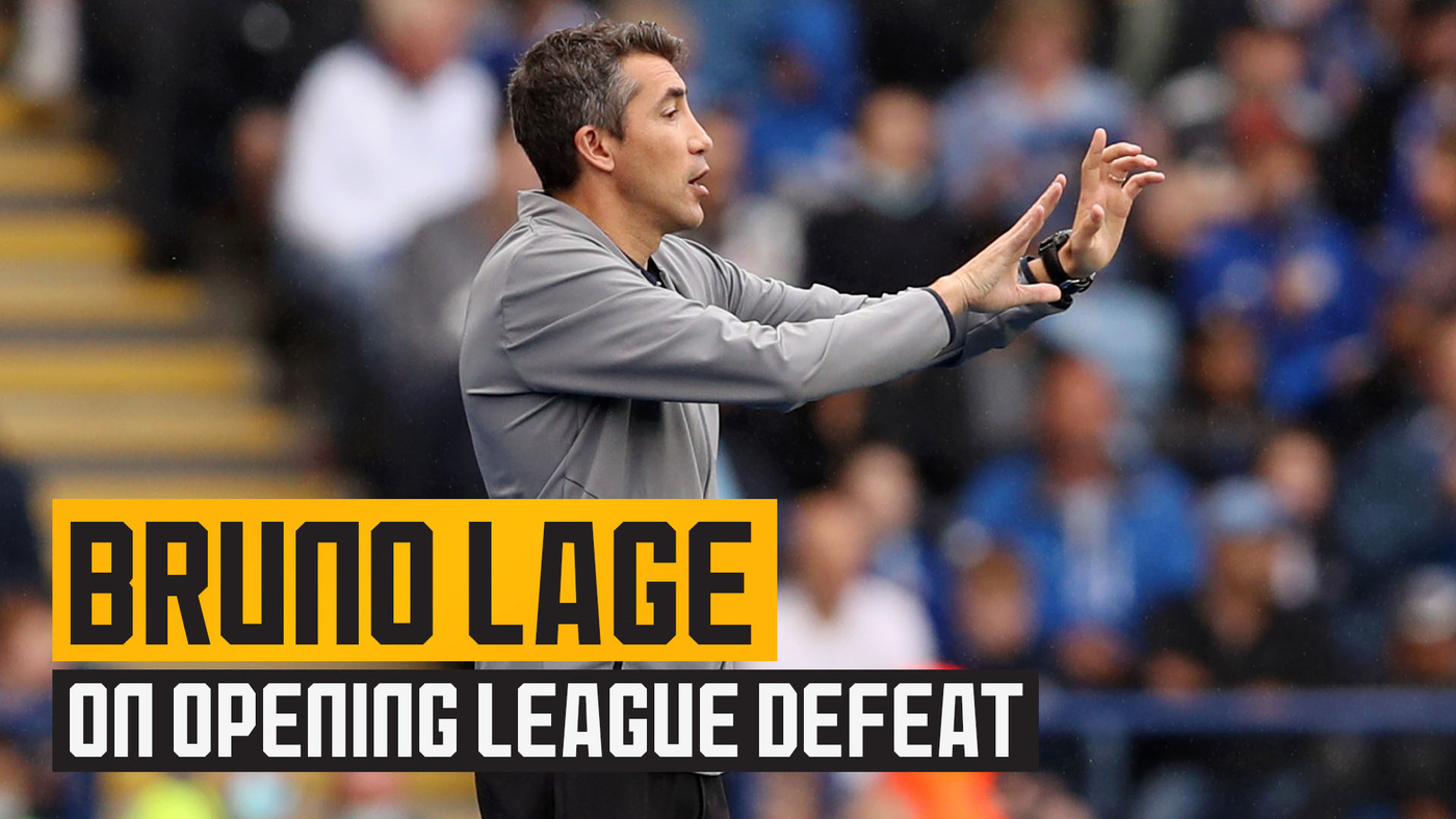 Lage reflects on opening day defeat to Leicester City