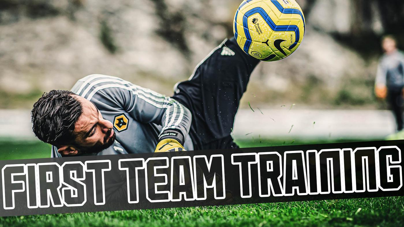 Goalkeeper watch! | Wolves winter break training day three