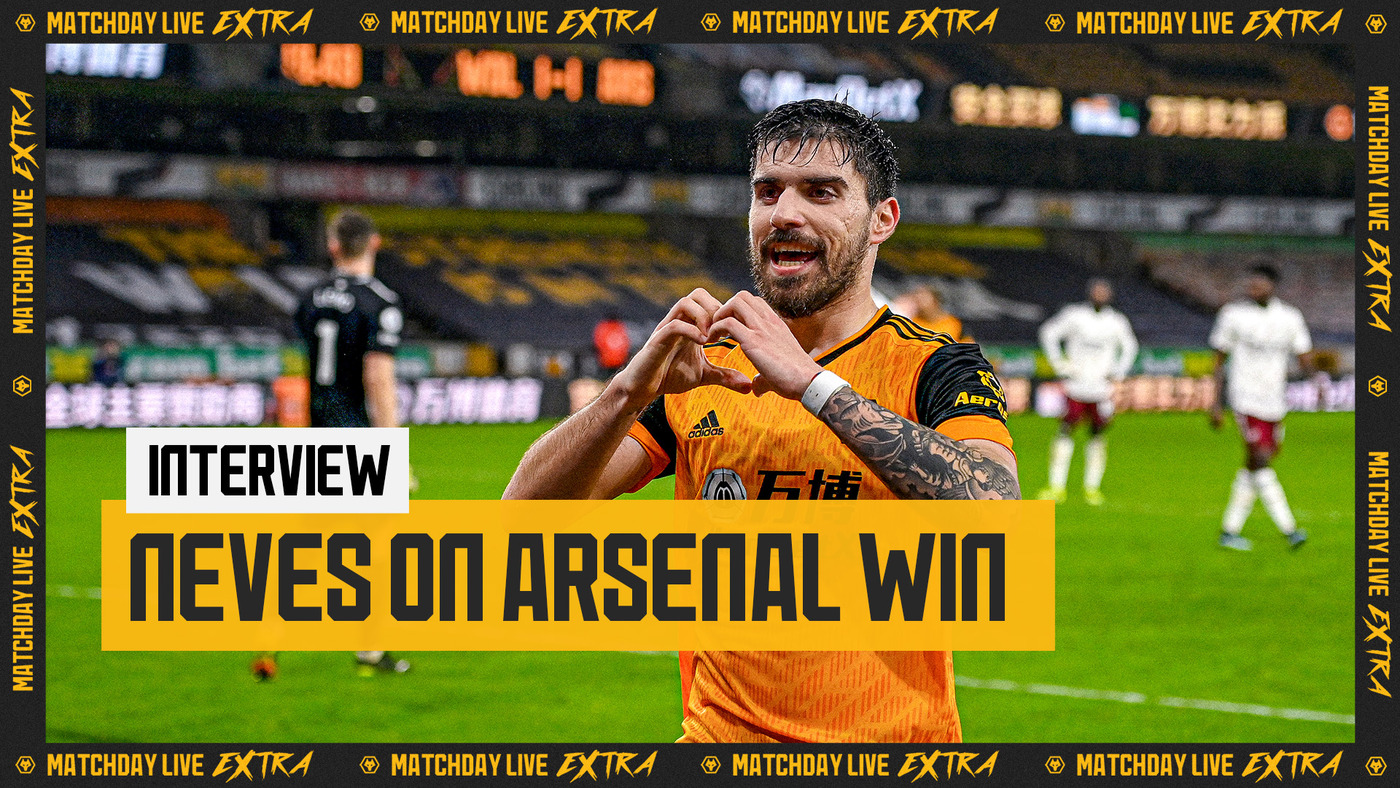 Ruben Neves on Arsenal win and personal sacrifices | Matchday Live Extra Interview