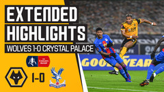 Traore with a left foot rocket! Wolves 1-0 Crystal Palace | FA Cup Extended Highlights